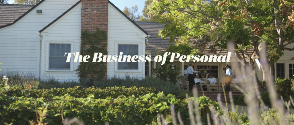 The Business of Personal